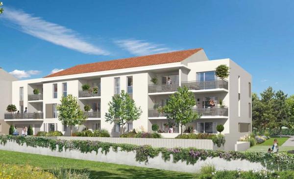 Vente bel appartement T1 à Champagne au Mont d'Or