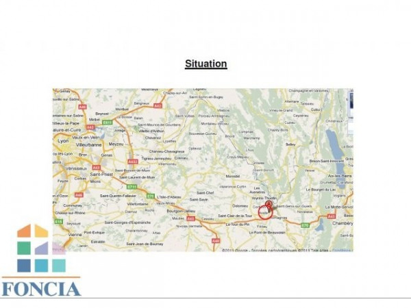 Location Local commercial Aoste 0