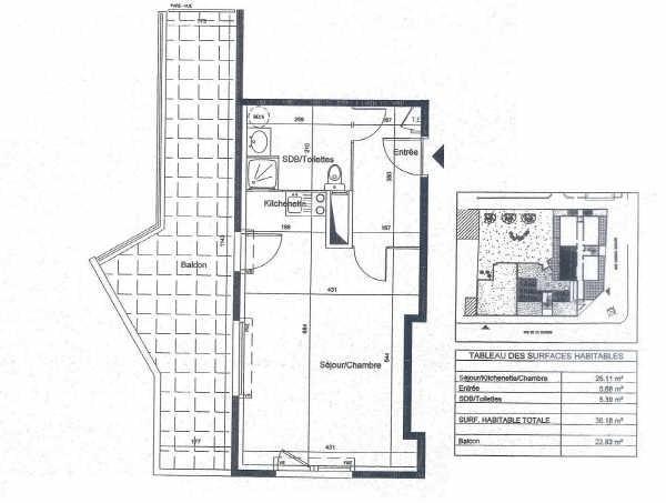 Location appartement Villeurbanne 565€cc - Photo 7