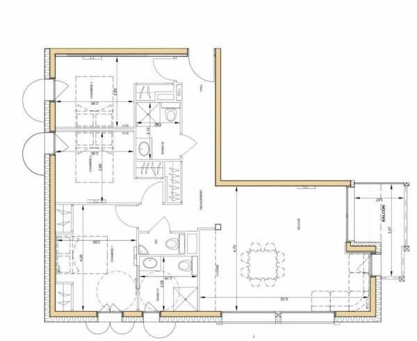 Immobile residenziali di prestigio appartamento Chamonix mont blanc 753000€ - Fotografia 2
