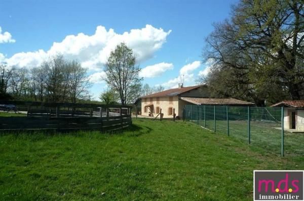 2 ha, ferme rénovée, manege et box à chevaux