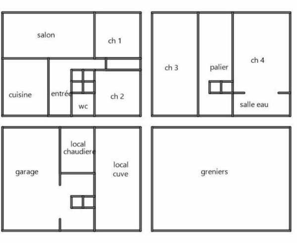Sale house / villa Plailly 378000€ - Picture 9