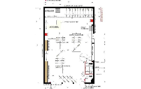 Location Local commercial Les ClayessousBois (Yvelines 78) 130 m²  ~ Location Les Clayes Sous Bois