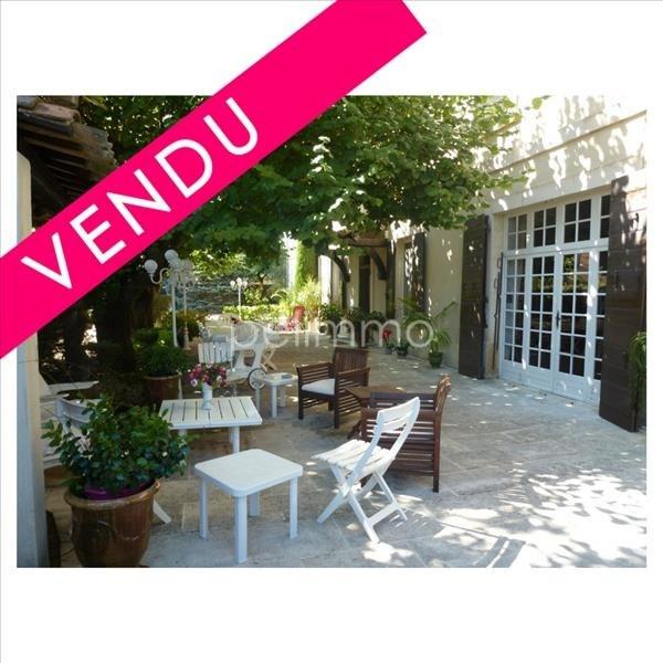 Vente de prestige maison / villa Pelissanne 598000€ - Photo 1
