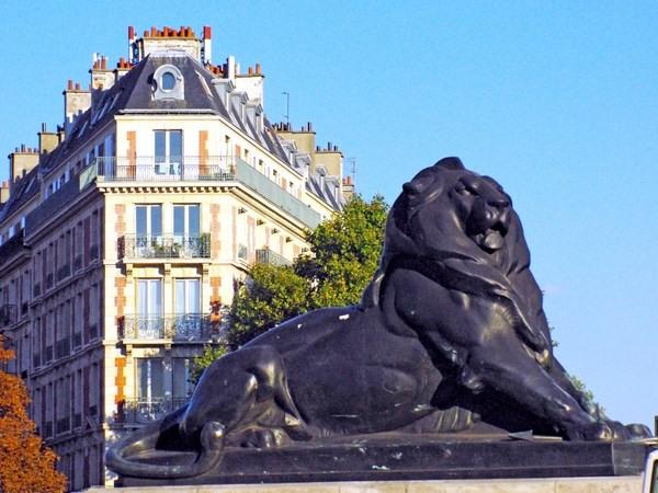 Rental apartment Paris 14ème 4570€ CC - Picture 1