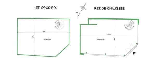 Vente Bureau Paris 20ème 0
