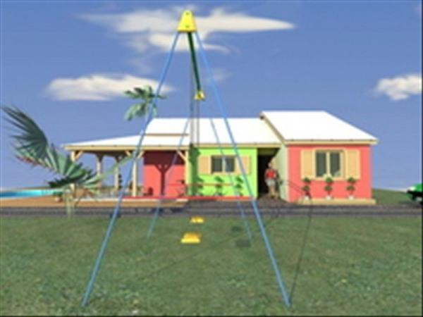Sainte rose les amandiers villa T4 à construire sur 516 m² d