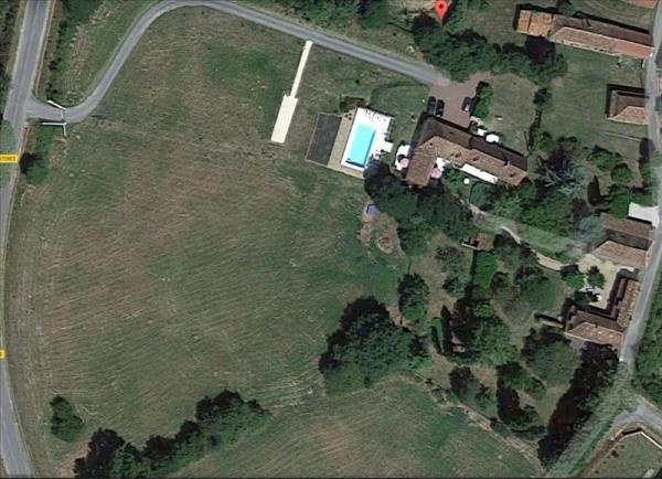 2 maisons + piscine