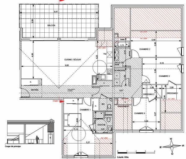 Deluxe sale apartment Annecy le vieux 914000€ - Picture 3