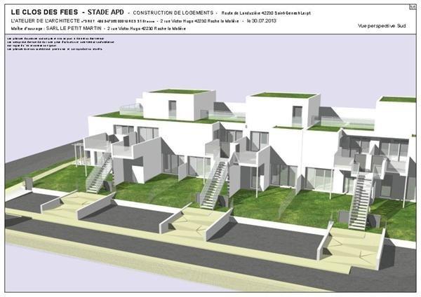 Verkoop nieuw  woningen op tekening Saint-genest-lerpt  - Foto 6