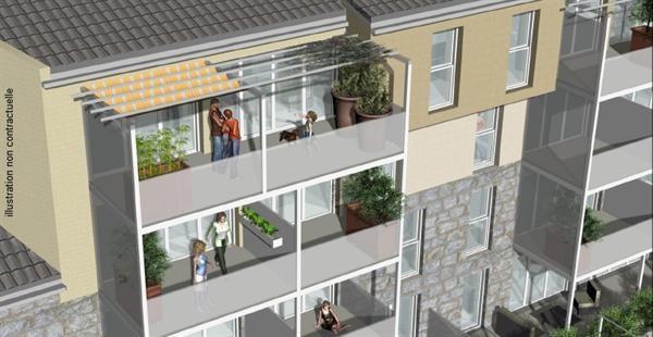Verkoop nieuw  woningen op tekening Saint-étienne  - Foto 3