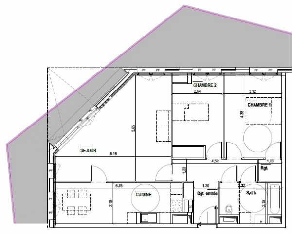 Rental empty room/storage Boulogne-billancourt 2700€ HT/HC - Picture 1
