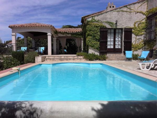 Villa provençale avec vue mer et piscine