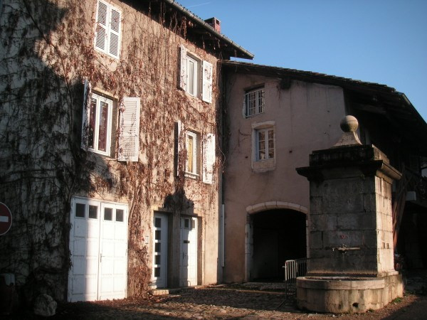 Rental apartment Poncin 595€ CC - Picture 1