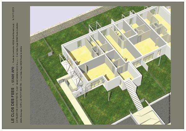 Verkoop nieuw  woningen op tekening Saint-genest-lerpt  - Foto 7
