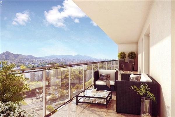 Vente appartement Marseille 11ème 278700€ - Photo 1
