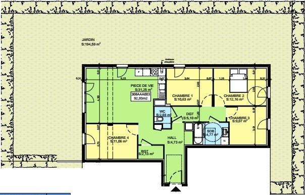 Sale apartment Saint-pierre-en-faucigny 353701€ - Picture 3