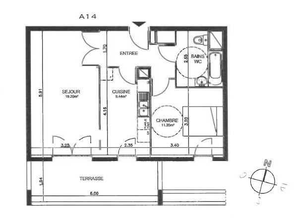 Location appartement Meylan 823€cc - Photo 7