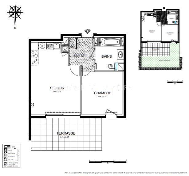 Vente appartement Roquebrune-cap-martin 302000€ - Photo 3