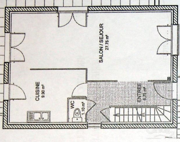 Sale house / villa Anse 280000€ - Picture 7