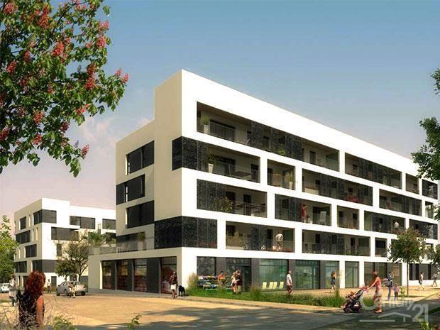 Locação apartamento Caen 670€ CC - Fotografia 1