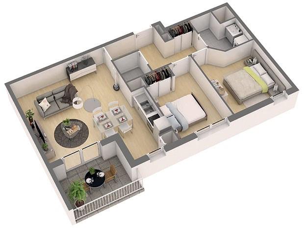 Produit d'investissement appartement Nantes 325000€ - Photo 3