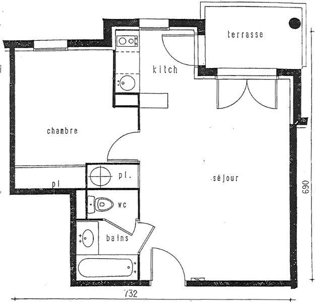 Rental apartment Toulouse 569€ CC - Picture 2