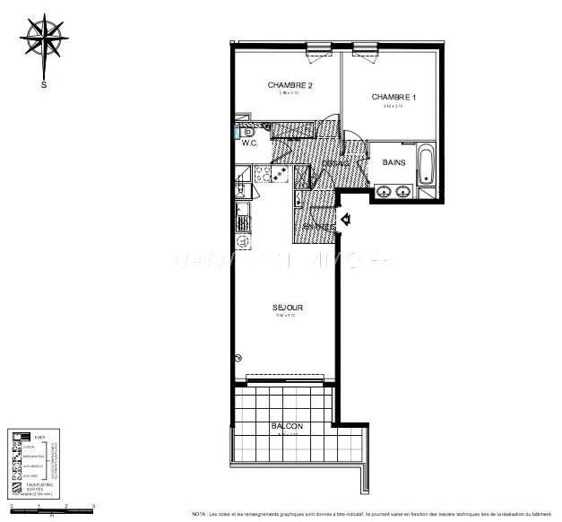 Vente appartement Roquebrune-cap-martin 418000€ - Photo 3