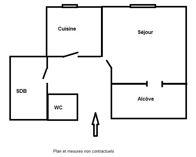 Vente appartement Lyon 3ème 163525€ - Photo 9