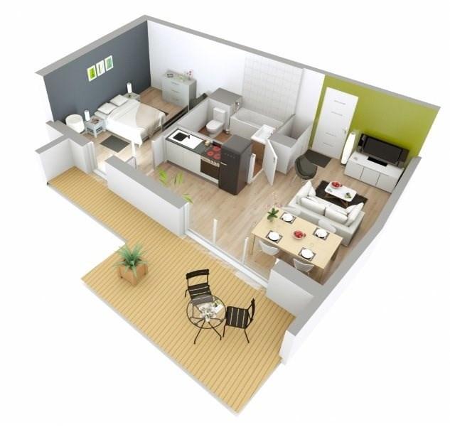 Sale apartment Fontaines sur saone 177000€ - Picture 1