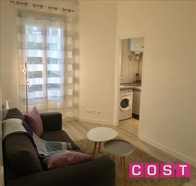 Location appartement Asnieres sur seine 840€ CC - Photo 1