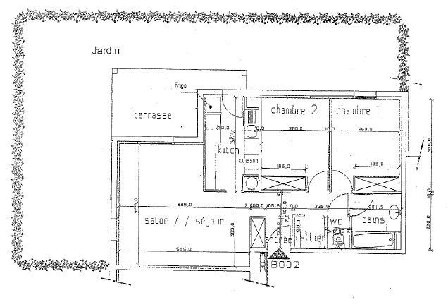 Sale apartment Labenne 198507€ - Picture 8