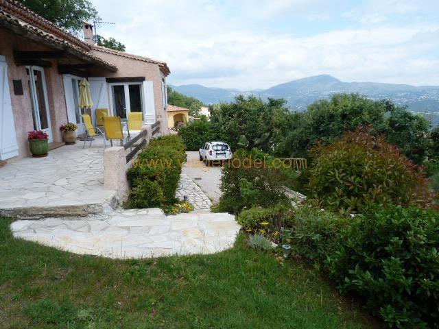 Vendita nell' vitalizio di vita casa Gattières 515000€ - Fotografia 2