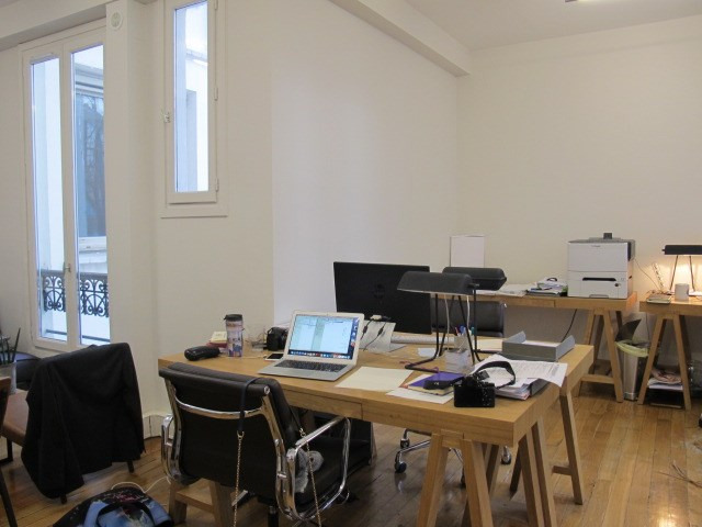 Alquiler  oficinas Paris 10ème 1341,75€ +CH/ HT - Fotografía 1