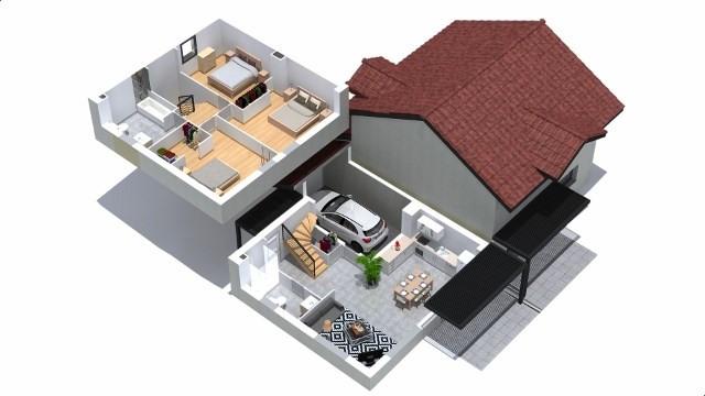Sale house / villa Villaz 385000€ - Picture 3
