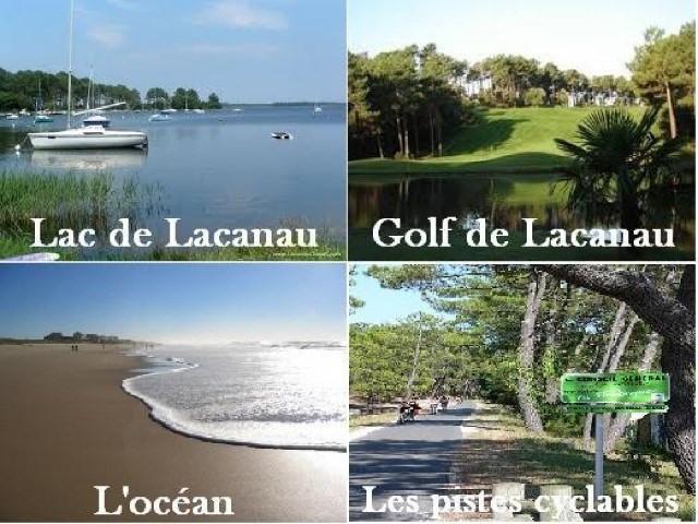 Alquiler vacaciones  casa Lacanau 785€ - Fotografía 2