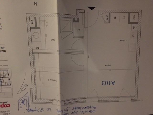Vendita appartamento Neuville sur saone 128000€ - Fotografia 3