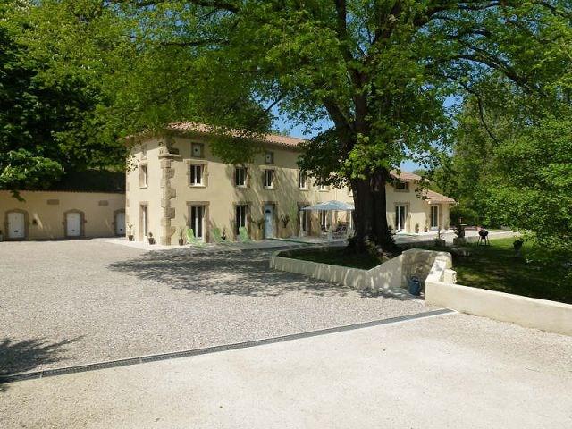 Deluxe sale house / villa Chateauneuf de galaure 567500€ - Picture 13