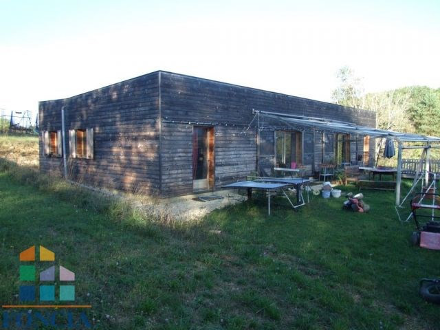 Maison contemporaine en bois