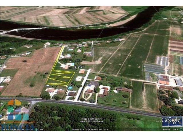 Vente terrain Bergerac 56000€ - Photo 2