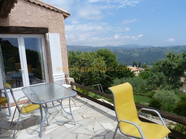 Vendita nell' vitalizio di vita casa Gattières 515000€ - Fotografia 3