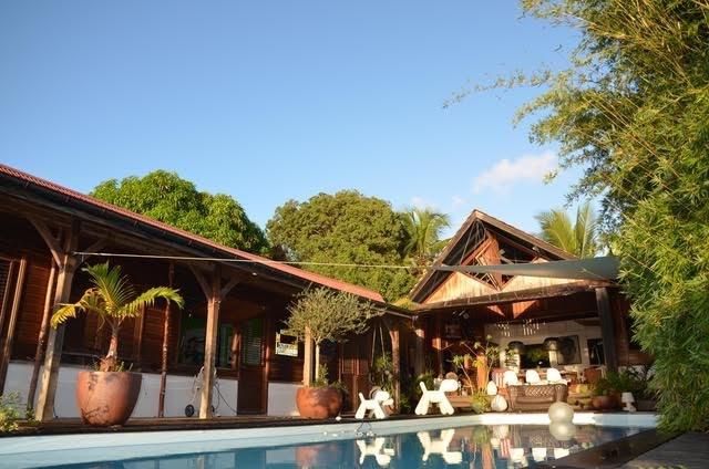 Deluxe sale house / villa Trois ilets 630000€ - Picture 1