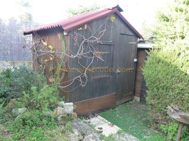 Vendita nell' vitalizio di vita casa Valbonne 110000€ - Fotografia 5