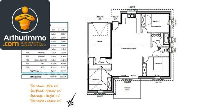 Sale house / villa Bordes 189000€ - Picture 2