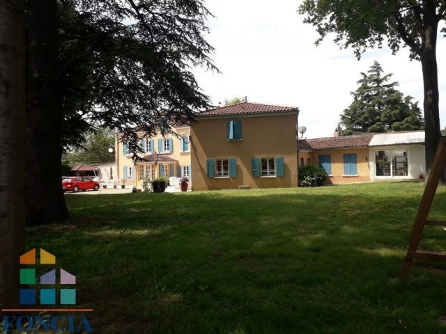 Deluxe sale house / villa Reyrieux 595000€ - Picture 8