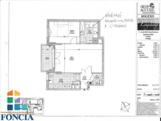 Location appartement Suresnes 1350€ CC - Photo 6