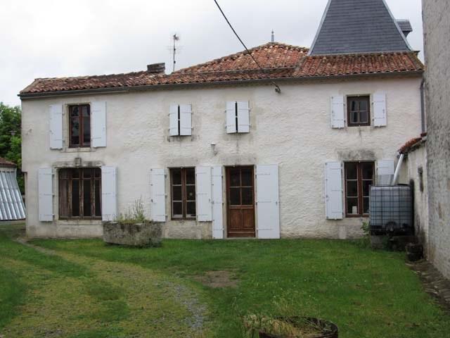 Vente maison / villa Asnières-la-giraud 138000€ - Photo 1