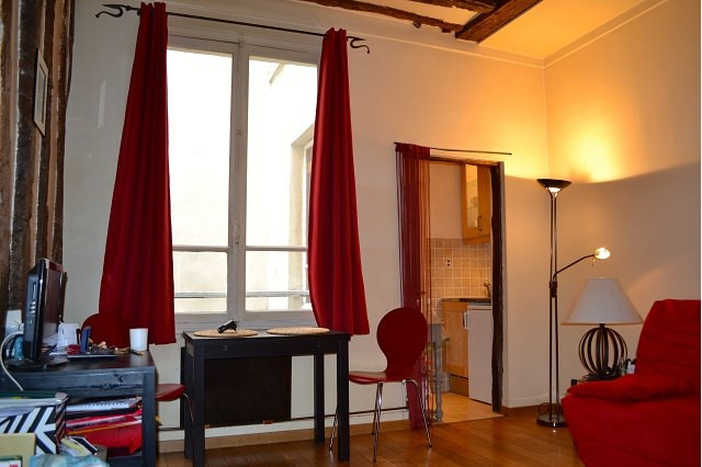 Rental apartment Paris 2ème 890€ CC - Picture 3