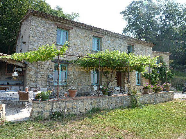 Vendita nell' vitalizio di vita casa Tourrettes-sur-loup 265000€ - Fotografia 1