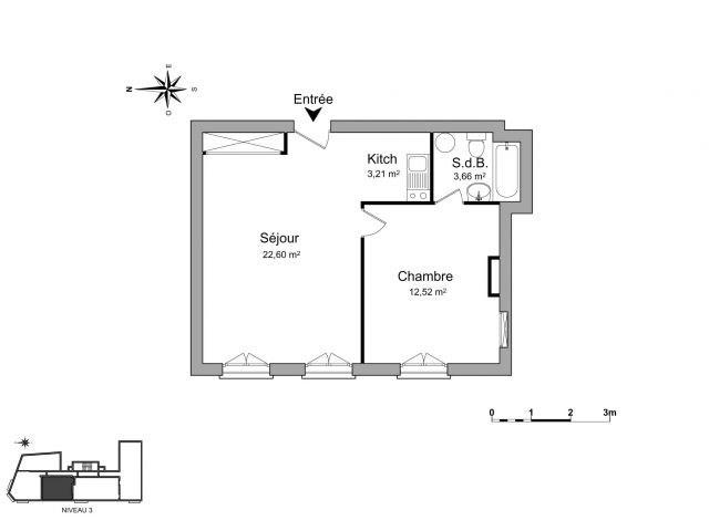 Location appartement Saint-étienne 388€ CC - Photo 6